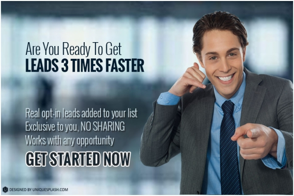 3 x faster Leads