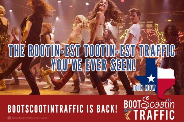 BootScootin Traffic